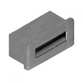 Крепление USB02-05 на панель с крепежом матовый хром
